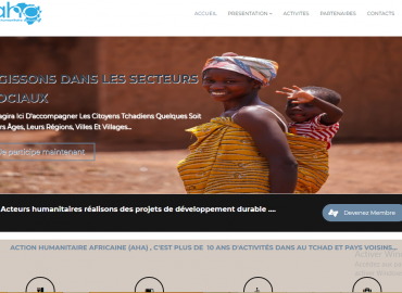 Site Web Officielle Action Humanitaire africaine